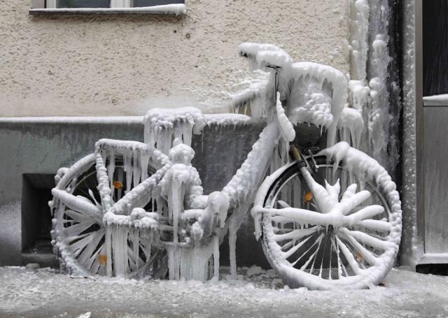 frozenbike